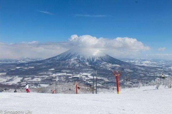 Mt Annupuri, Hirafu, Niseko
