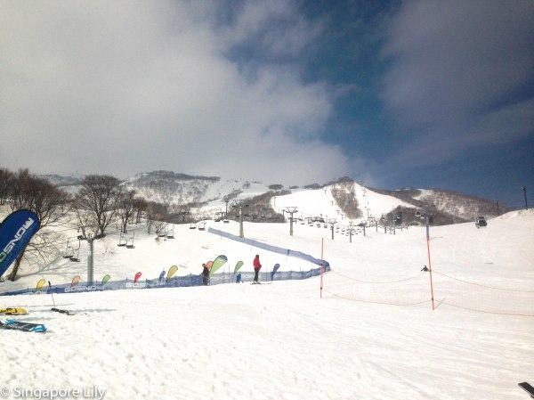 Mt. Annupuri, Hirafu, Niseko